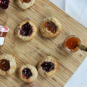 Biscuits A La Confiture Bonne Maman (Vegan)