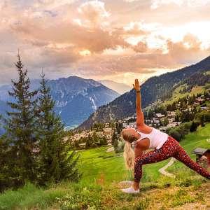 Inspire Yoga Festival Verbier